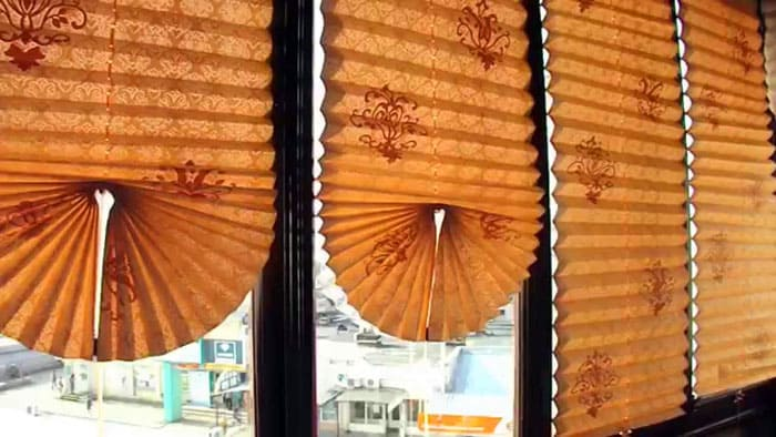 Комбинированные типы нижнего края на большом окне