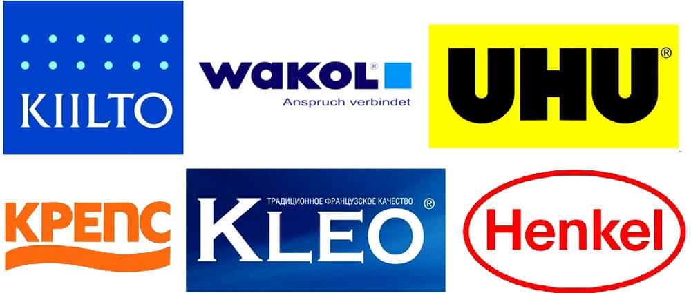 Компании-производители качественных клеевых составов