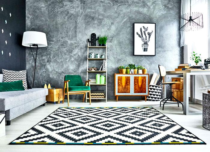 Серый часто выбирают для ультрасовременного дизайна