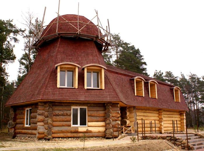 Только что выстроенное деревянное жильё должно «отдохнуть» и просохнуть