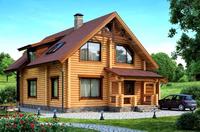 Усадка происходит также и из-за веса постройки. Чтобы сделать жильё красивым не только снаружи, но и изнутри, нужно подождать