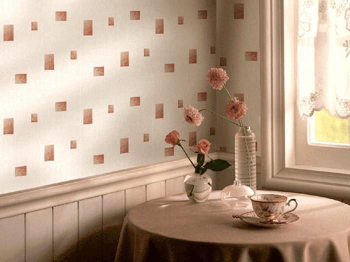 Стены вмиг становятся ровными и изящными. Для кухни это превосходный вариант