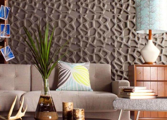 Какой бы материал вы ни выбрали, дизайн помещения должен стать особенным и впечатляющим