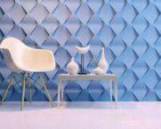 3D-панели для стен в интерьере