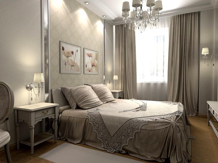 Цвета в спальню следует подбирать такие, чтобы они способствовали расслаблению