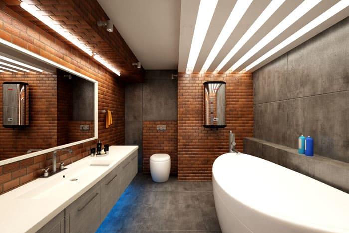 Кирпичи и бетон давно стали точной характеристикой лофта