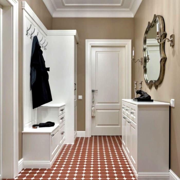 Однотонные цвета стен и мебели, как на фото, не вступят в дисгармонию друг с другом, если один из них — белый