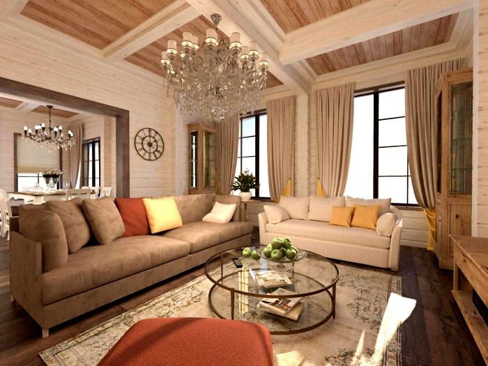 Нежность и элегантность пастельных оттенков очевидна для любого помещения