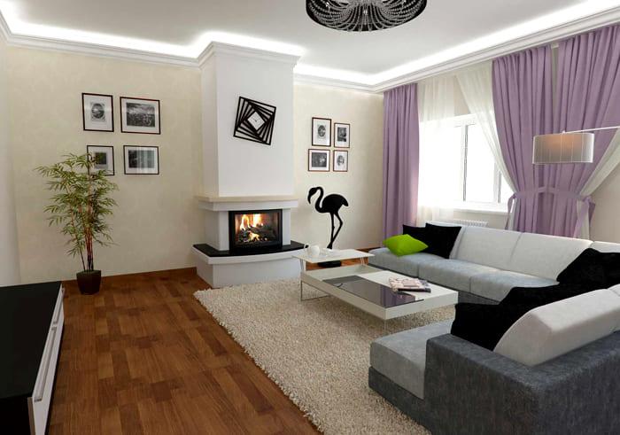 Подсветка по периметру делает любую комнату современнее и оригинальнее