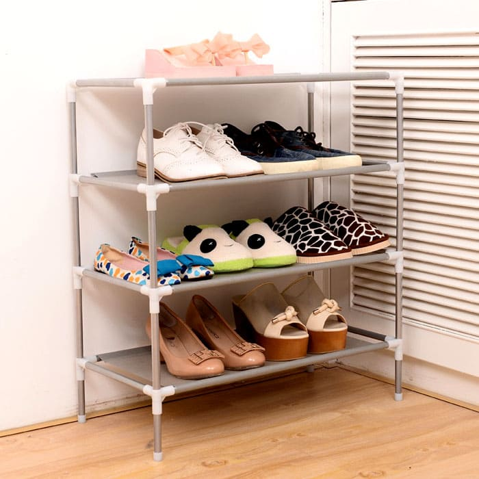 Интересное решение для хранения обуви