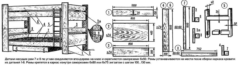 Очень многие детали можно устанавливать на древесный клей