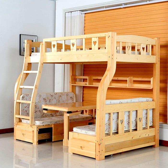Зона отдыха и зона сна — это очень полезное соотношение