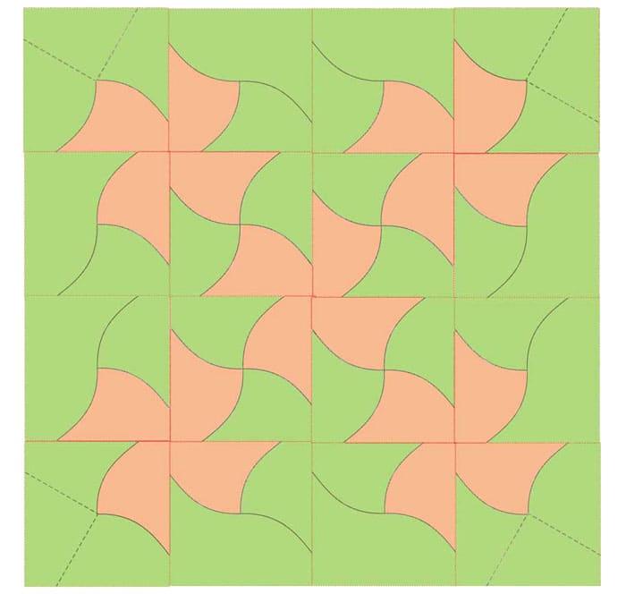 При скачивании из интернета лучше выбирать шаблоны, которые чётко показывают каждую деталь цветом