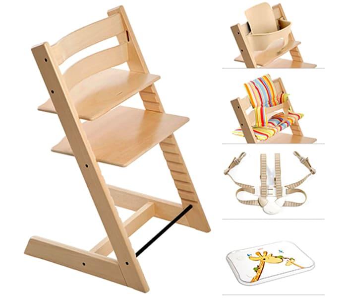 ФОТО: lh4.googleusercontent.com Вместе со стулом покупателю предлагаются дополнительные аксессуары – ремни, подушки и стол