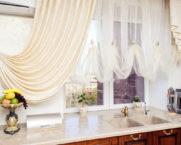Тюль на кухню: фото