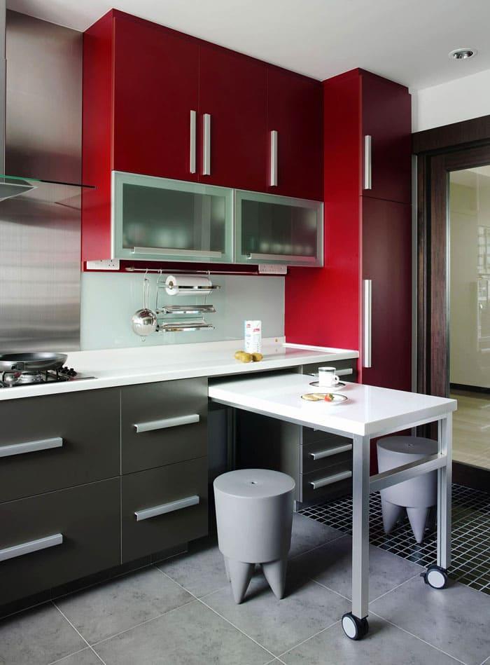 Для крохотного помещения придуманы мини-варианты, которые не скрадывают пространство, а делают его комфортным