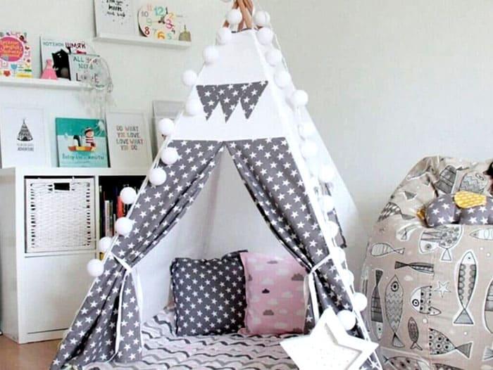 Масштабный текстильный проект для декора детской, который будет воспринят на ура