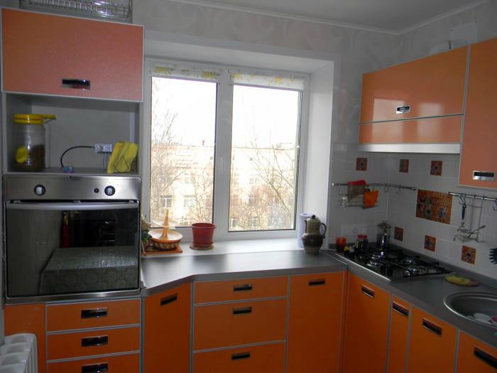 Оранжевое решение — всегда солнечная кухня