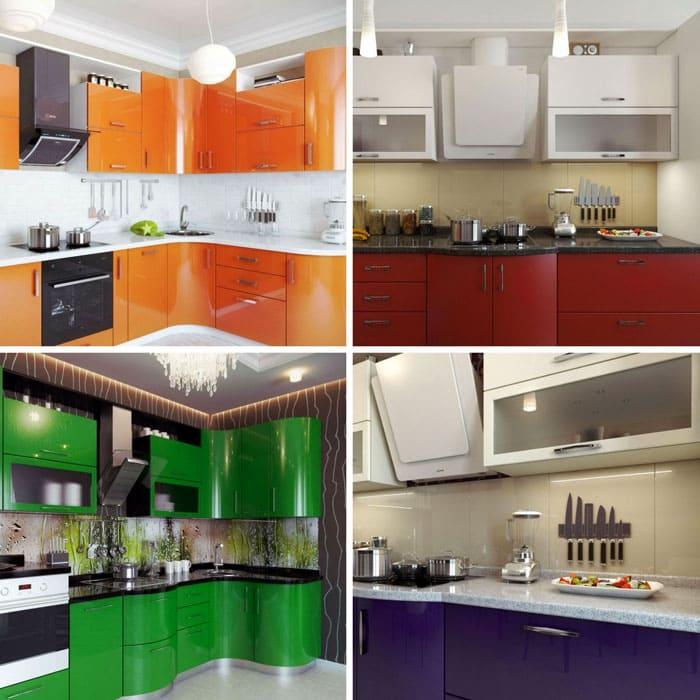 В небольшой кухне может использоваться два маленьких встроенных холодильника