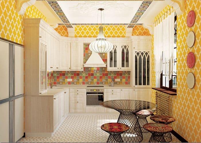 На маленькую кухню для сохранения чистоты необходима качественная вытяжка
