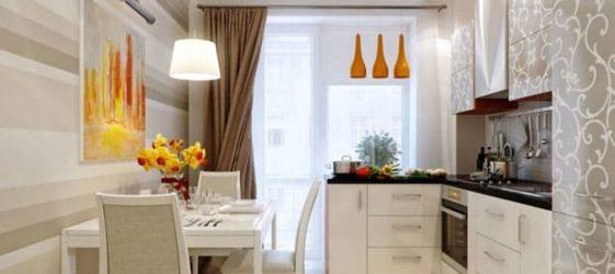 Дизайн кухни 9 м², идеи, фото