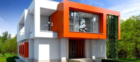 Дома в стиле хай-тек: фото