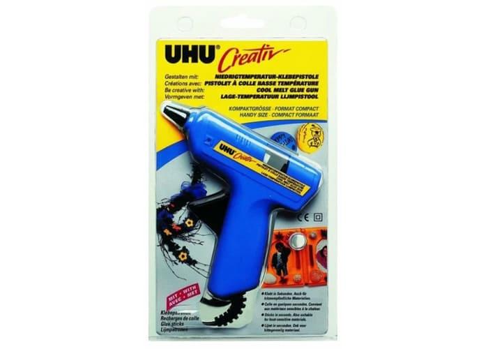 Лёгкий и компактный термопистолет UHU Creativ 47360