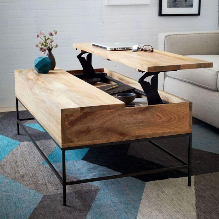 Есть целый ряд представителей мебели-трансформеров