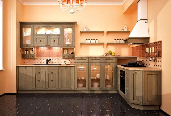 Сложнее всего спрятать плиту, но в этом случае, ищут просто подходящий дизайн, соответствующий гарнитуру