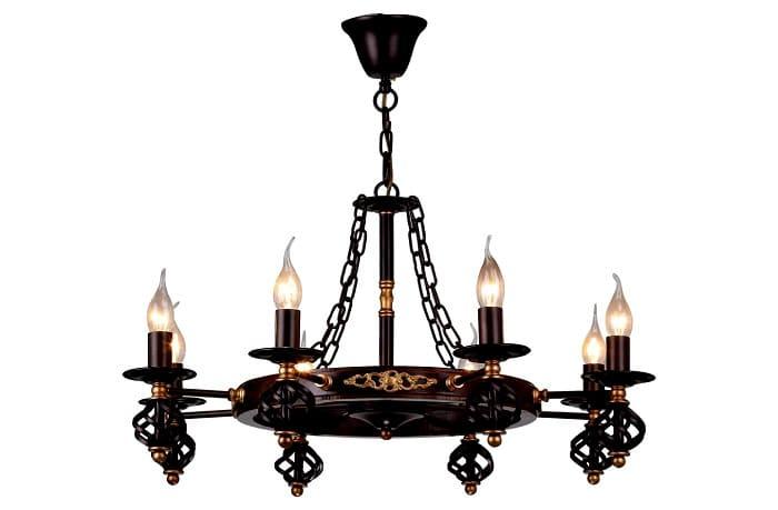 Дизайнеры создали много отличных моделей светильников и люстр
