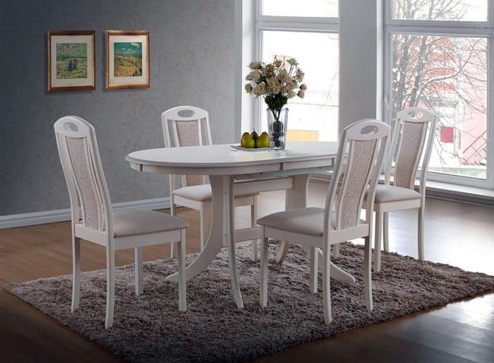 Белые тона благородны. Такая мебель освежает и визуально расширяет пространство