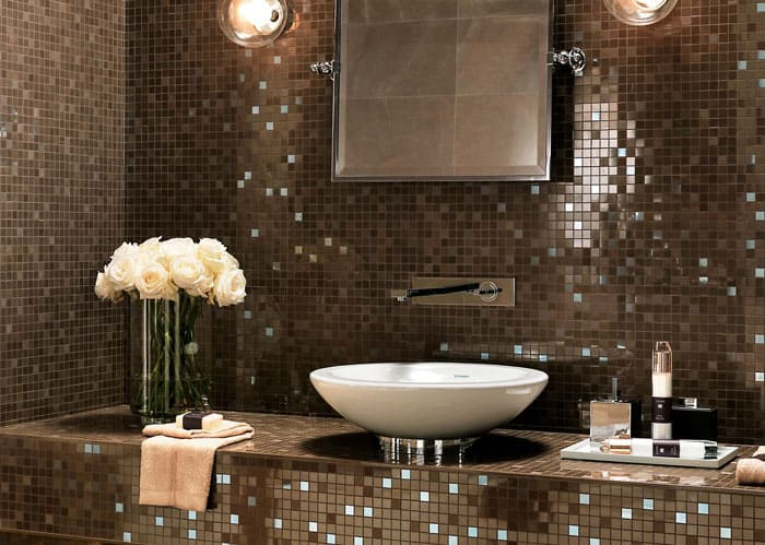 Плитка-мозаика для ванны
