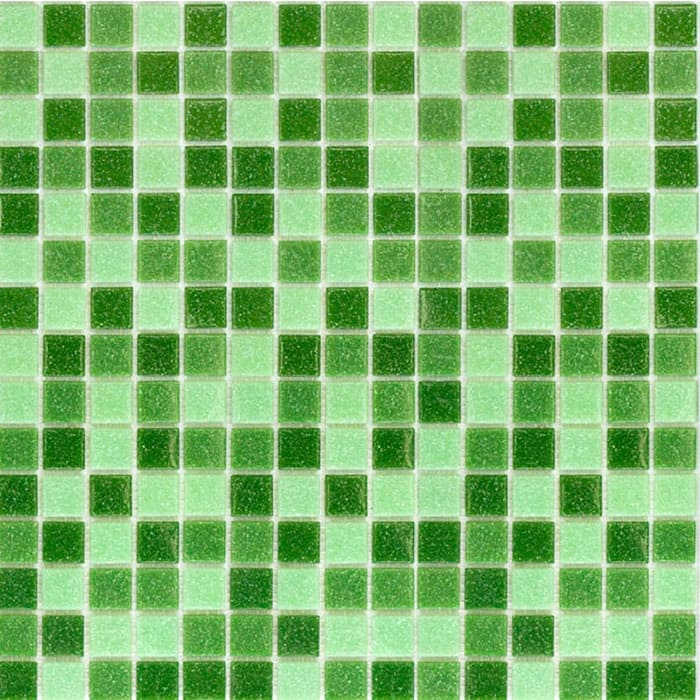 Для микса подбирают разные цвета, но размещают их на матрице вразнобой