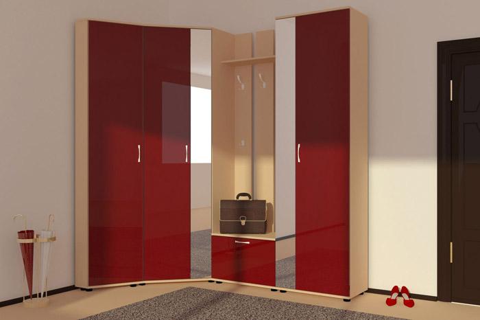 Не забываем о визуальных преимуществах глянцевой мебели