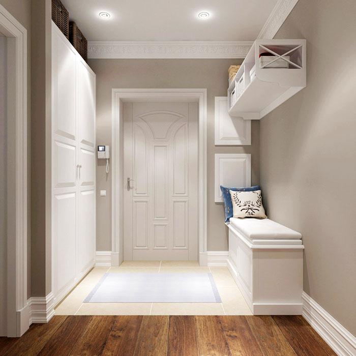 Стены, окрашенные или обработанные декоративной штукатуркой, долговечны и не требуют особенного ухода