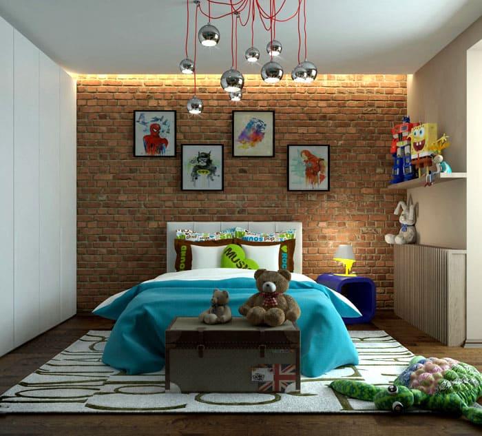 Цветовая палитра для подросткового возраста куда шире, чем взрослая спальня