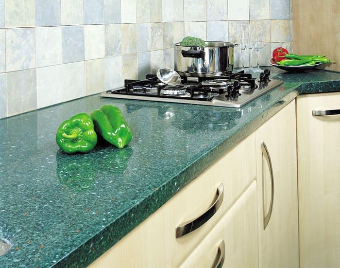 Столешницы для кухни: виды