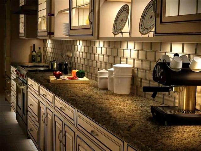 Интересные природные оттенки для роскошного облика кухни