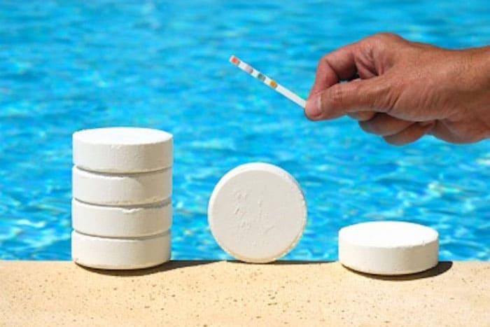 Таблетки в бассейн для дезинфекции воды