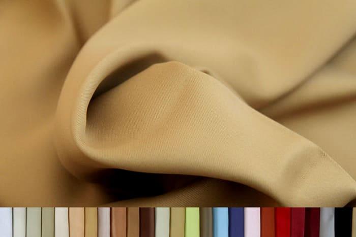 Из ткани блэкаут чаще делают классические занавески
