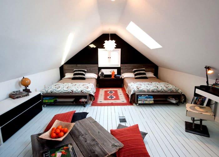Традиционный выбор: расположение кроватей по-отдельности