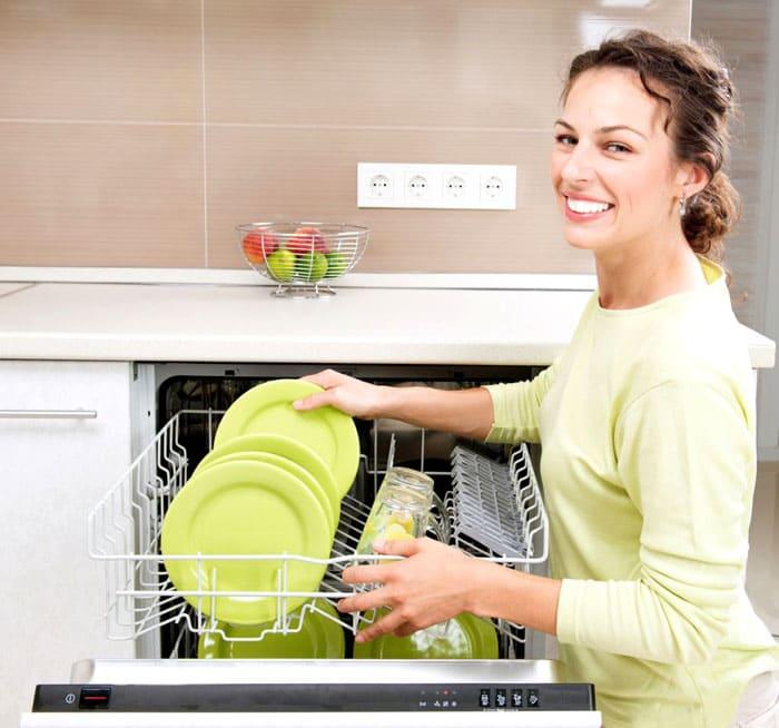 Приятно доставать кристально чистую посуду