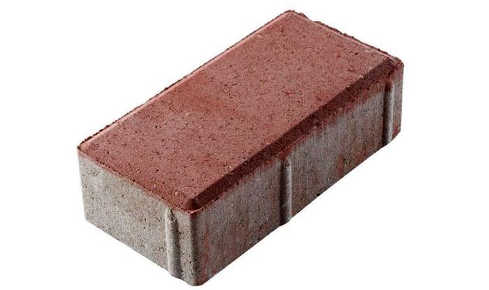 Плитка-кирпич для больших дворов