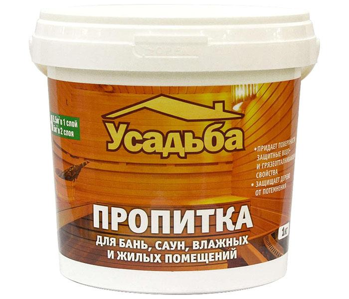 Антисептическая пропитка для бани, кроме магнитных свойств, проявляет устойчивость к высоким температурам и влажности
