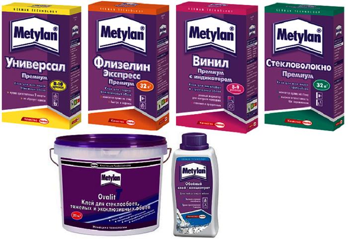 Метилан – один из наиболее крупных производителей обойных клеёв