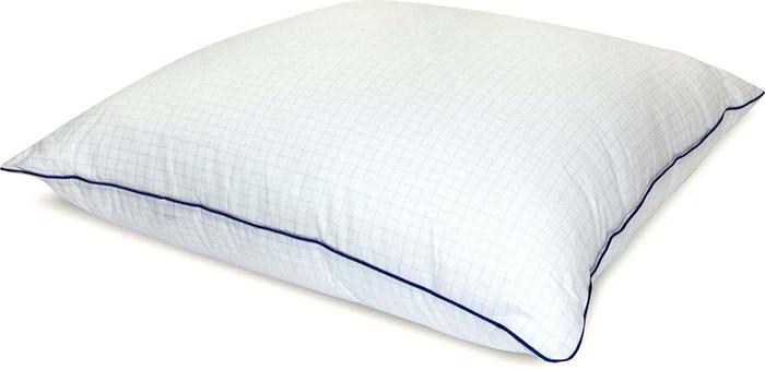 Такие подушки быстро сохнут и практически не впитывают лишнюю влагу