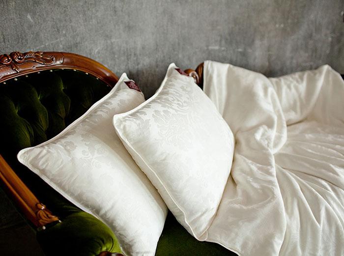 На слишком пышные подушки не стоит покупать узкие наволочки