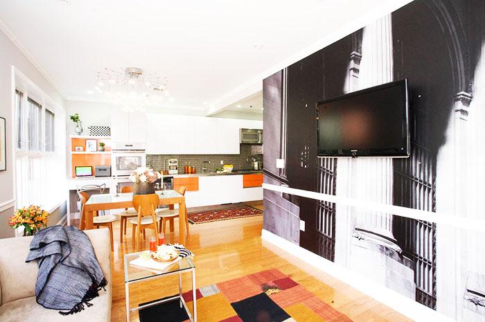 Обои для зала в квартире: каталоги, фото