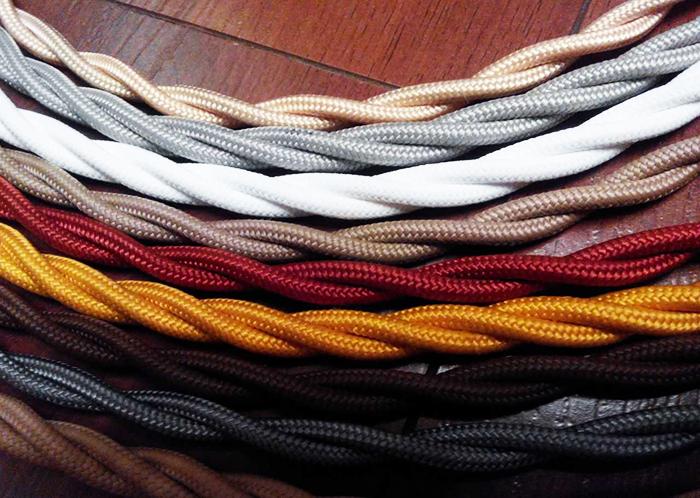 Пример кабельной продукции ретро проводки Bironi