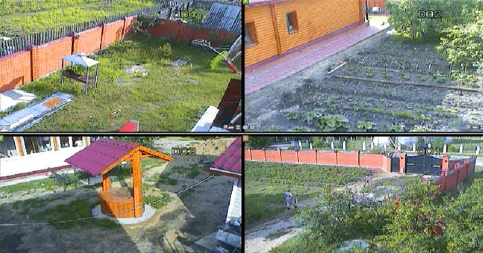 Видеонаблюдение на даче своими руками
